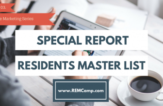 Special Report – Build a Master Residents and Real Estate List