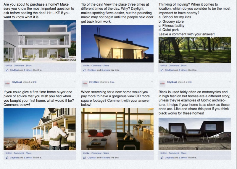 Real Estate Marketing Camp 100 Best Real Estate Posts On Facebook