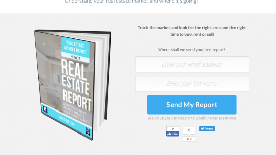 Real Estate Marketing Camp REMCamp Home - Real estate landing page template free
